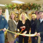 Cozy Cottage ribbon cutting